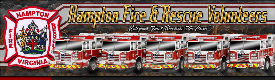 Hampton Fire & Rescue Volunteers
